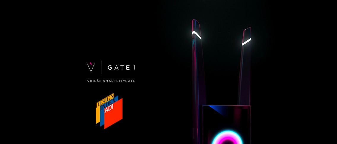 Gate 1 – selected for ADI DESIGN INDEX 2020 Voilàp Holding